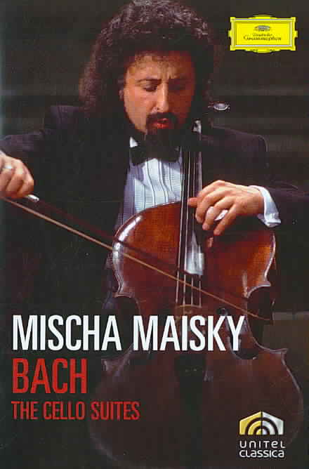 BACH:CELLO SUITES BY MAISKY,MISCHA (DVD)